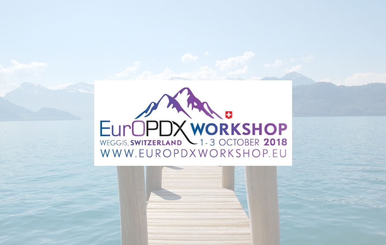 **SAVE THE DATE** - 2nd EurOPDX Workshop, Weggis, Switzerland on October 1-3, 2018 — Thumbnail image