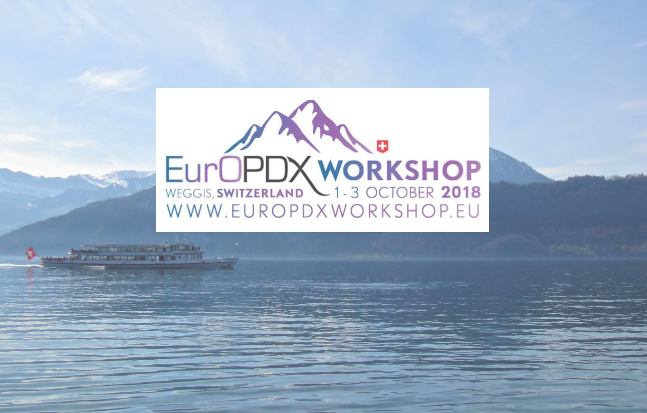 Registration for the 2nd EurOPDX Workshop on October 1-3 has now closed! — Thumbnail image