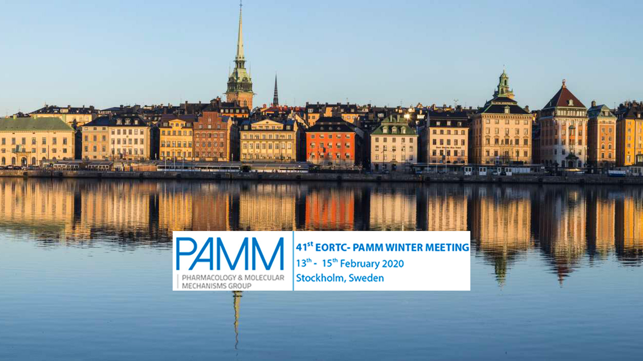 Meet us at the EORTC-PAMM 2020 Winter Meeting in Stockholm on 13-15 February — Thumbnail image